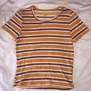 Striped Pacsun t-shirt